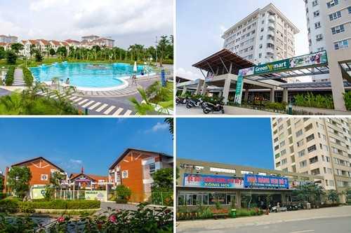 Bể bơi, siêu thị, trường mầm non, nhà hàng KĐT Đặng Xá