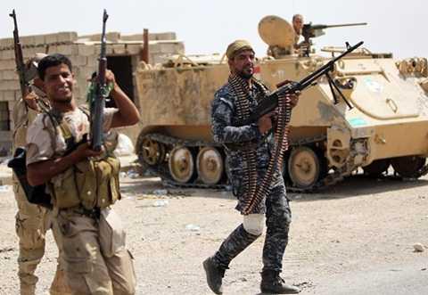 Lực lượng an ninh Iraq tham gian chiến dịch chống IS