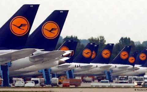 Hàng loạt chuyến bay đường dài của Hàng không Lufthansa phải hủy bỏ