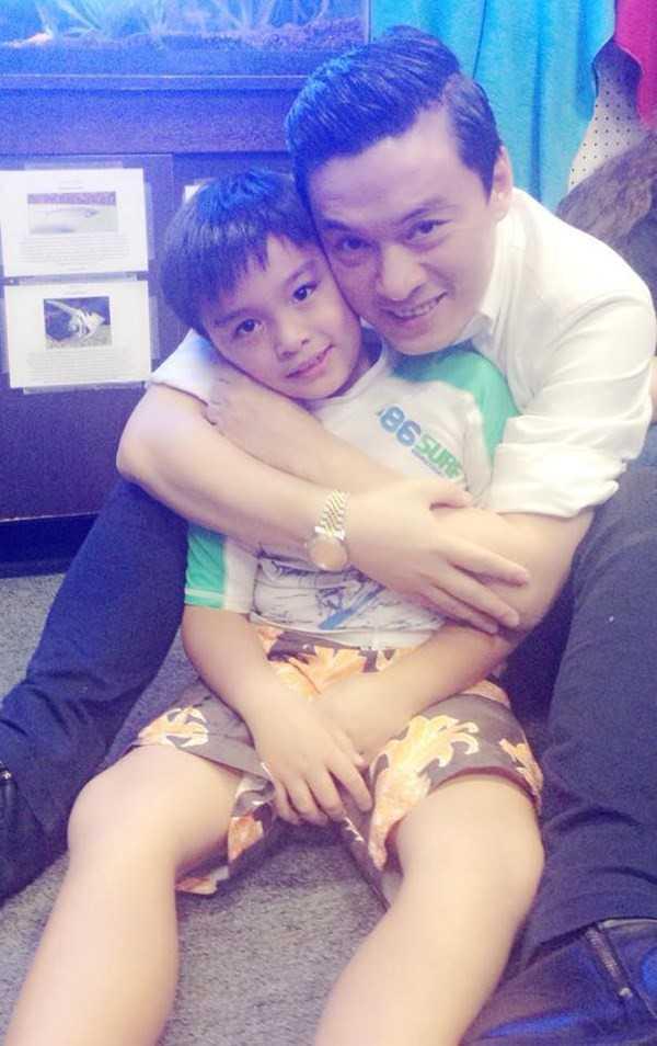 Lam Trường và con trai