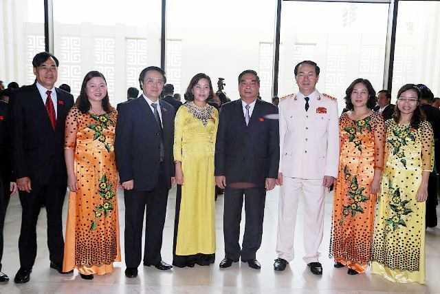 Bộ trưởng Trần Đại Quang bên lề kỳ họp thứ 8 Quốc hội khóa XIII