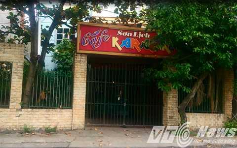 Nhà nghỉ Sơn Lịch, nơi xảy ra vụ việc - Ảnh MK