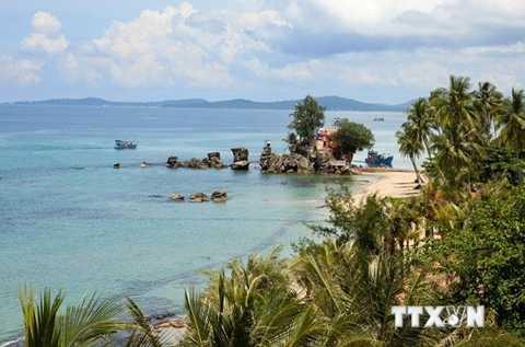 Cảnh đẹp Phú Quốc (Ảnh: Ngọc Hà - TTXVN)