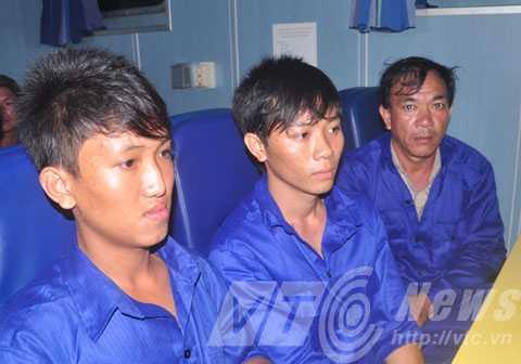 Ký ức kinh hoàng vẫn hiện hữu trên gương mặt các ngư dân tàu cá BĐ 95393 TS
