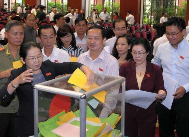 Ngày 15/11, Quốc hội sẽ tiến hành bỏ phiếu tín nhiệm với 50 chức danh chủ chốt do Quốc hội bầu và phê chuẩn (Ảnh minh họa: Tuổi trẻ)