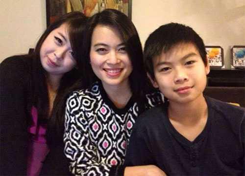 Hình ảnh 3 mẹ con người Việt tử nạn trên MH17