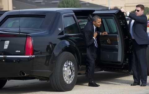 Xe riêng của Tổng thống Mỹ được cho là có khả năng chống đạn, chống vũ khí hóa học, sinh học