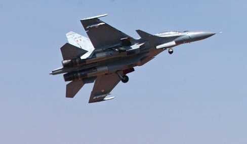 Chiến cơ Su-30 của quân đội Ấn Độ