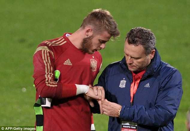 De Gea chấn thương là thảm họa thực sự với Man Utd