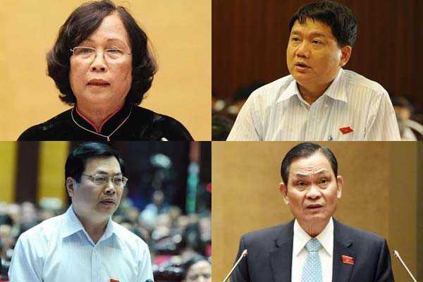 4 Bộ trưởng sẽ trực tiếp trả lời chất vấn Quốc hội vào đầu tuần tới