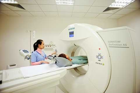 Tại BV đa khoa quốc tế có đầy đủ các phương tiện chẩn đoán hình ảnh  giúp chẩn đoán sớm và chính xác bệnh ung thư vú để bệnh  nhân có thể điều trị kịp thời bệnh.