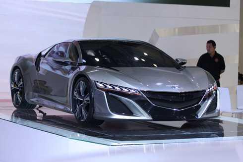 Chiếc concept NSX của Honda.