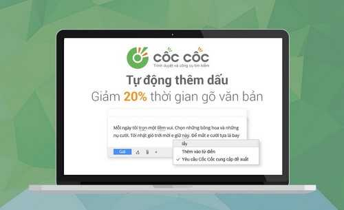 Tự động thêm dấu, soát lỗi chính tả khi gõ tiếng Việt