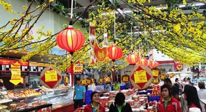 Nhiều doanh nghiệp đã hoàn tất việc chuẩn bị hàng cho dịp Tết Nguyên đán