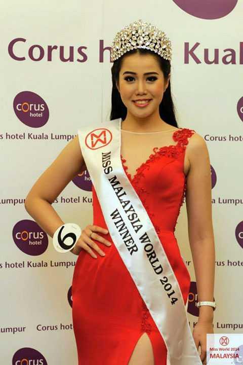 Hoa hậu Malaysia Dewi Liana Seriestha