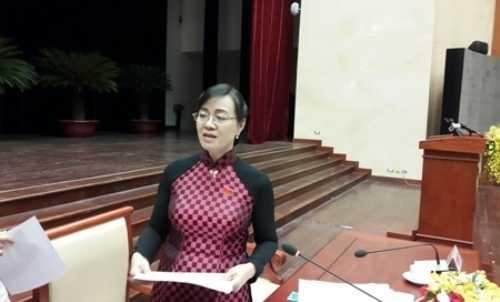 Bà Nguyễn Thị Quyết Tâm - Chủ tịch HĐND TP.HCM (ảnh: P.L)