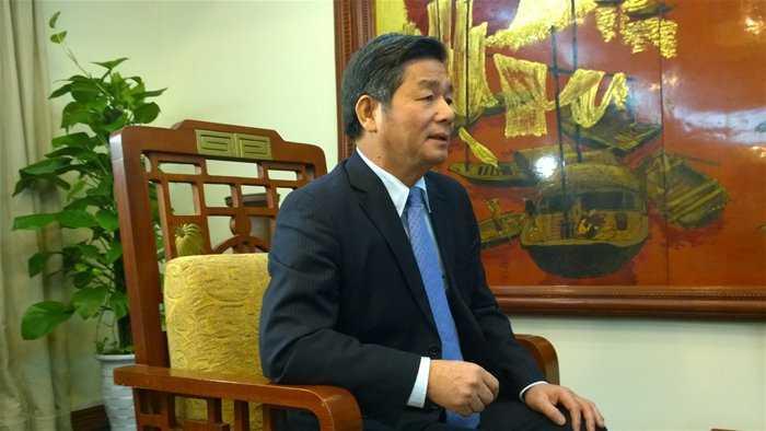 Bộ trưởng Bùi Quang Vinh. Ảnh TG
