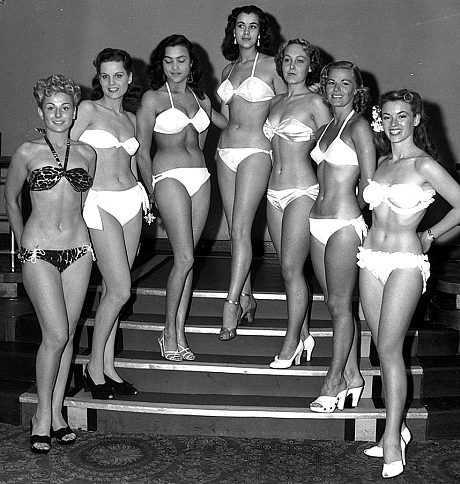 Cuộc thi HHTG có xuất phát điểm từ một buổi trình diễn bikini ngoài trời