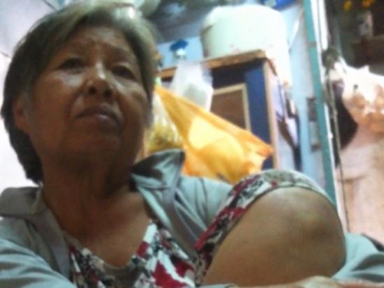 Bà bé Hai, người có thời gian tiếp xúc nhiều với Bạch Hải Đường.