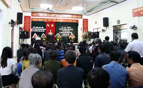 Sáng 21/12, Hội Cựu chiến binh Đà Nẵng và Ban liên lạc bộ đội Trường Sa tại Đà Nẵng đã tổ chức buổi gặp mặt và tri ân đến các cựu binh Trường Sa và các liệt sỹ hy sinh ở đảo Gạc Ma