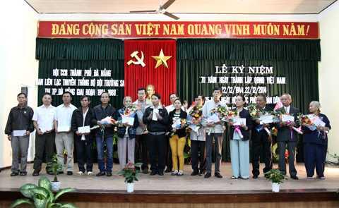 Gia đình, thân nhân các cựu chiến binh tham gia chiến đấu, bảo vệ Trường Sa được tri ân tại buổi gặp mặt