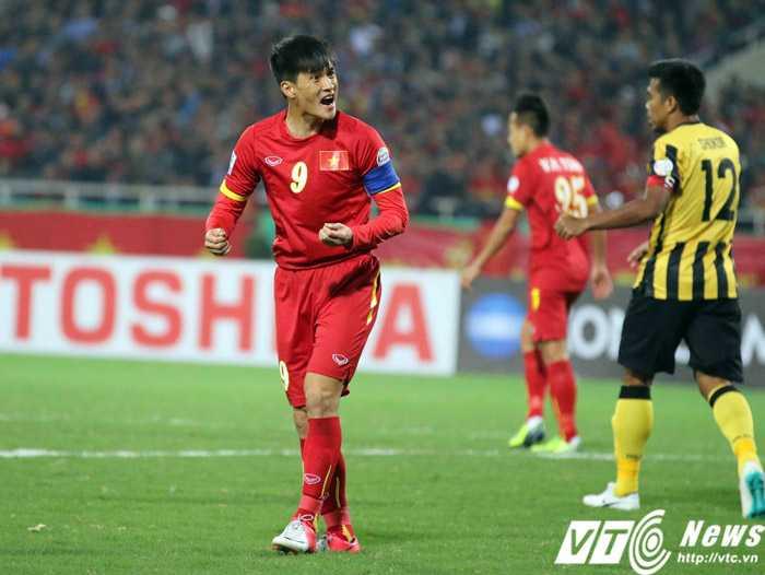 Công Vinh sẽ chia tay tuyển VN sau AFF Cup? (Ảnh: Quang Minh)