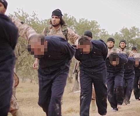 IS thậm chí sử dụng những bộ phận cơ thể của những binh sĩ đã bị tiêu diệt