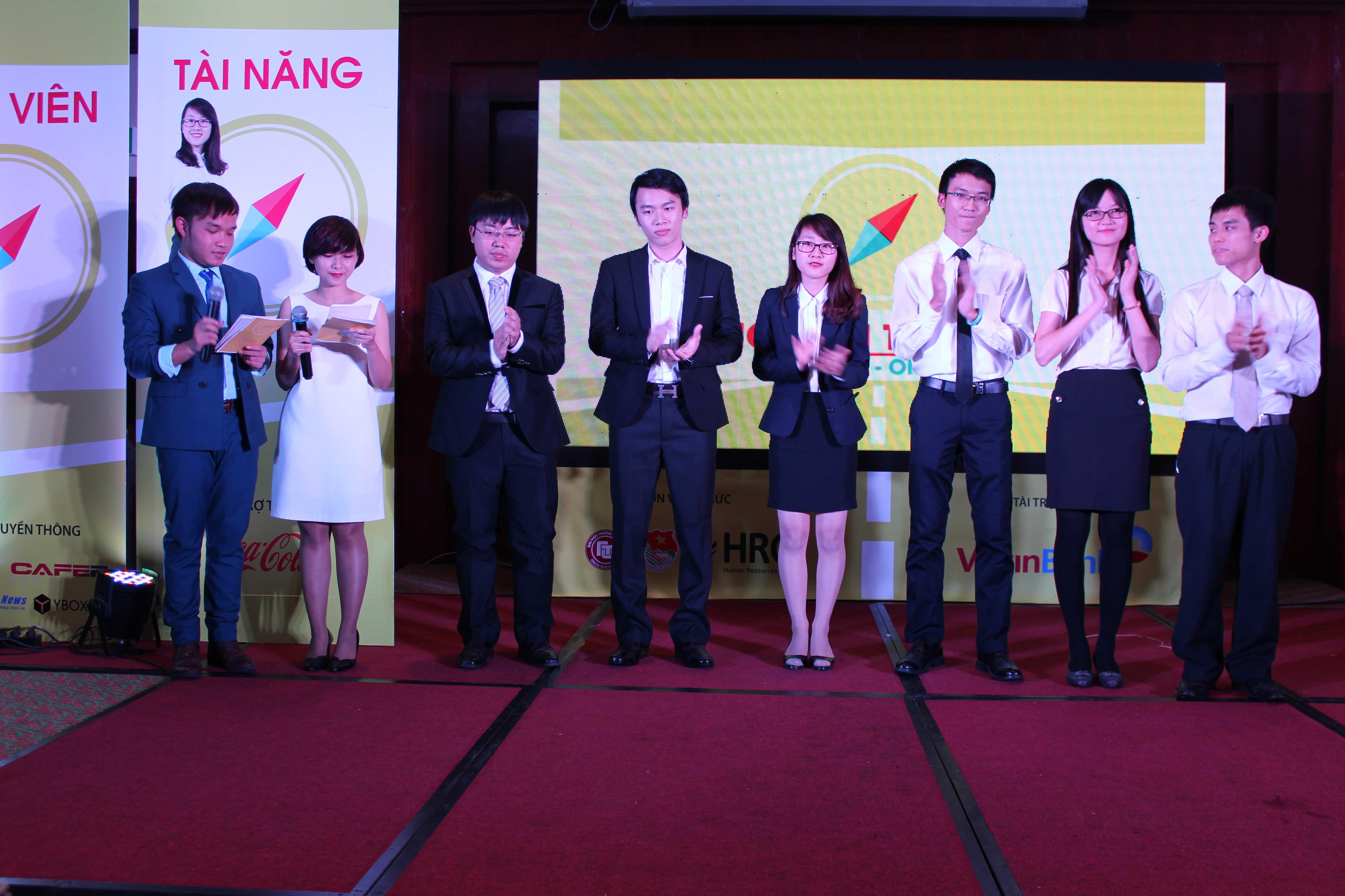 6 ứng viên xuất sắc nhất bước vào đêm Chung kết cuộc thi Ứng viên tài năng 2014.