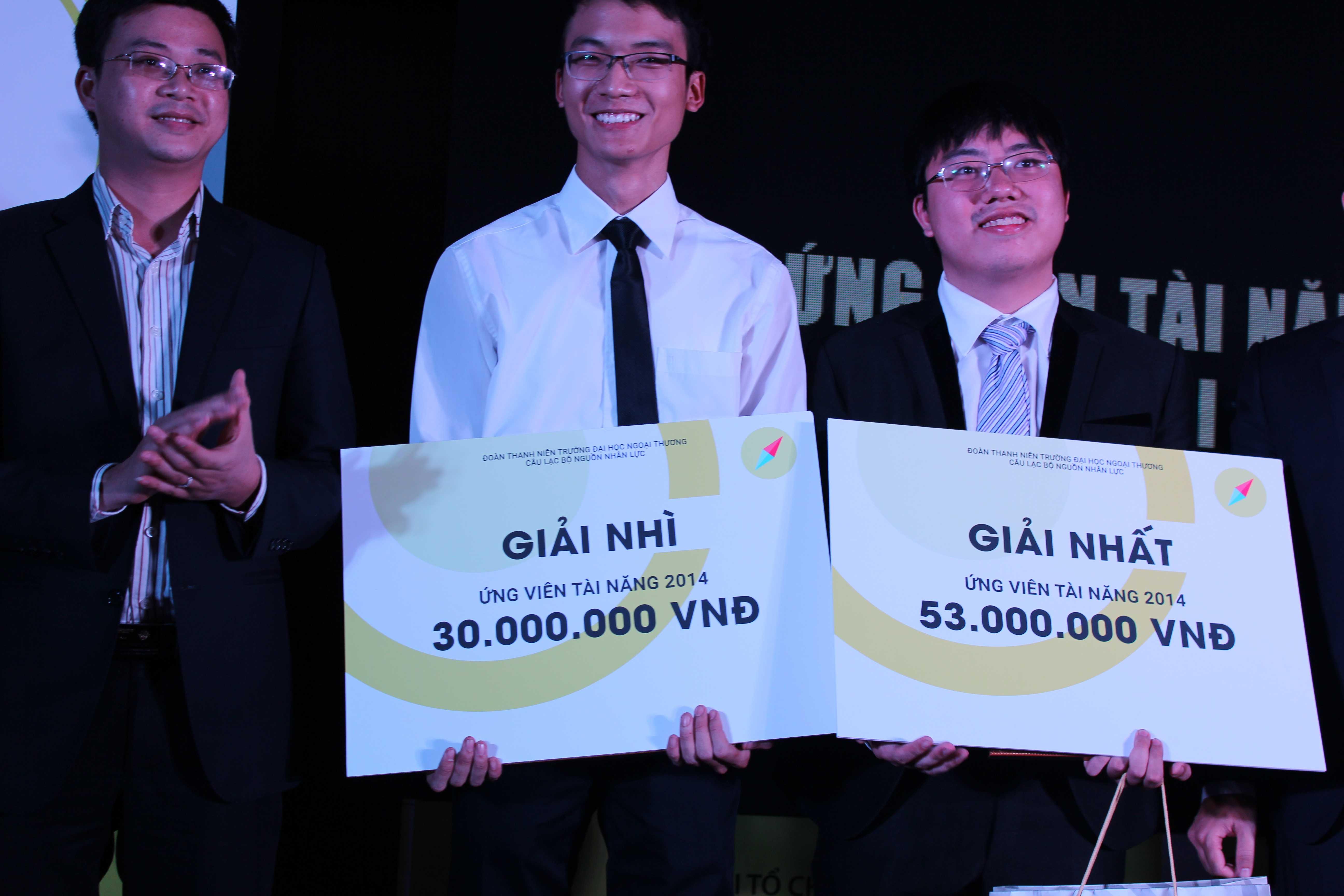 Quán quân Ứng viên tài năng 2014.