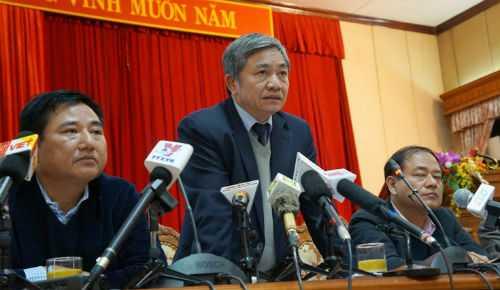 Lãnh đạo thành phố Hà Nội trao đổi về dự án xây dựng bãi xe ngầm trong Công viên Thống Nhất.