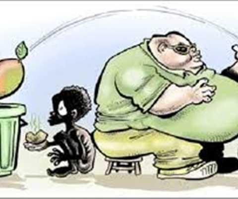 Không được quên những người đang chết đói- Ảnh minh họa