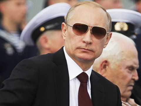 Tổng thống Nga Putin tiếp tục được chọn là nhân vật của năm