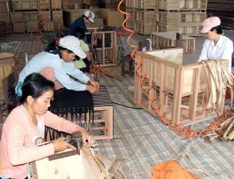 Giá trị kim ngạch xuất khẩugỗ và các sản phẩm gỗ ước đạt 6,54 tỷ USD