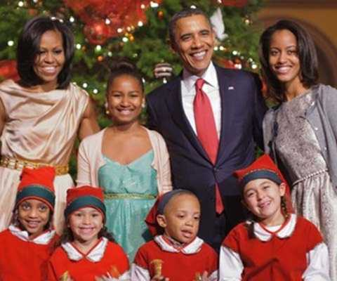 Giáng sinh ấm áp của Tổng thống Mỹ