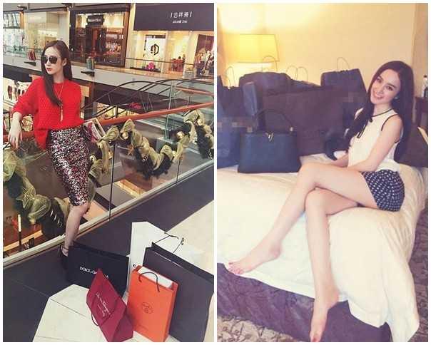 Những lần mua sắm tại nước ngoài, Phương Trinh đều không ngần ngại đăng tải thành tích shopping trên trang cá nhân.