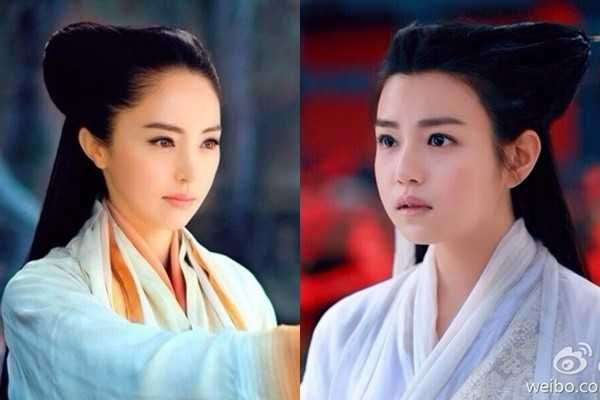 Lời bào chữa kiểu tóc không phù hợp dường              như cũng không còn tác dụng khi nhân vật sư tổ của phái Cổ Mộ Lâm Triều              Anh do Đổng Tuyền thủ vai xuất hiện.