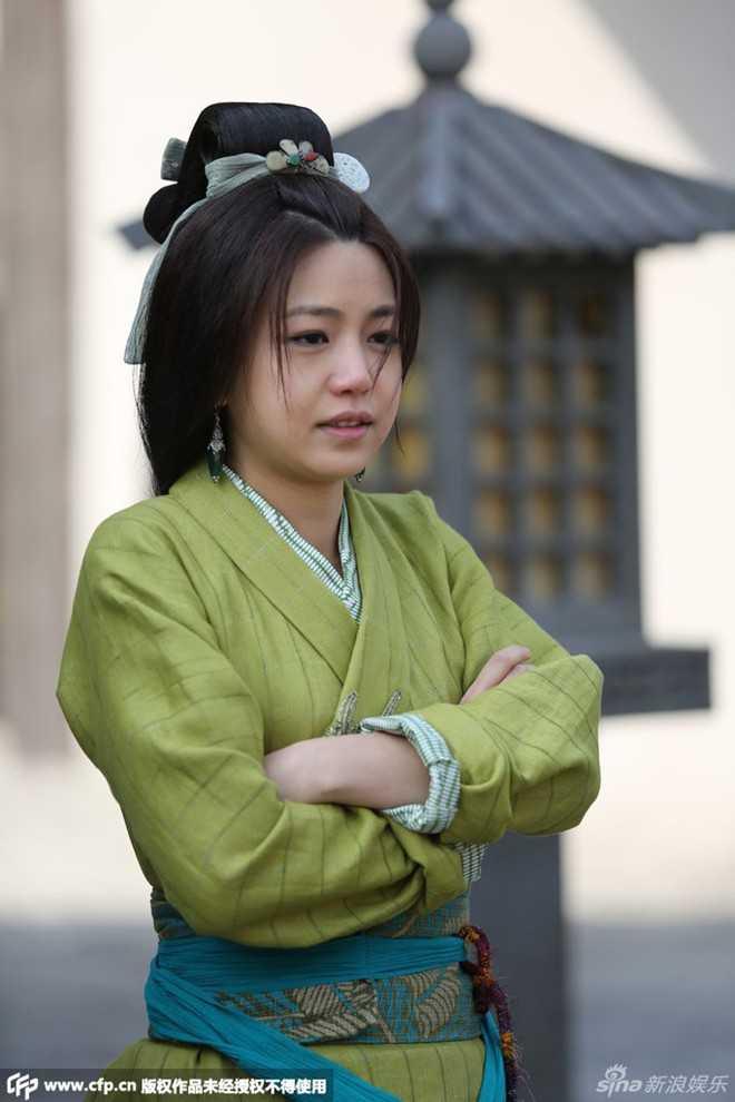 Trần Nghiên Hy trên phim trườngTần thời minh nguyệt.