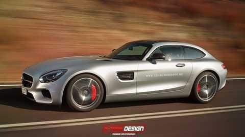 Mercedes-Benz AMG GT Shooting Brake