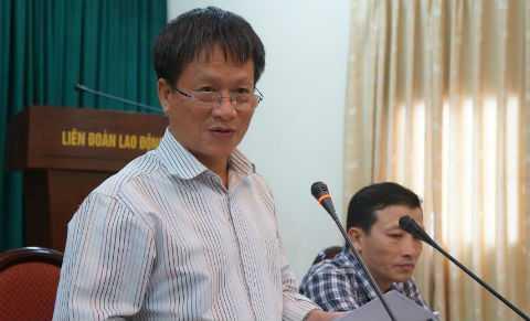 Ông Phan Đăng Long - Phó Trưởng Ban Tuyên giáo Thành ủy Hà Nội.