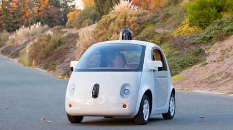Xe tự lái đầu tiên của Google.