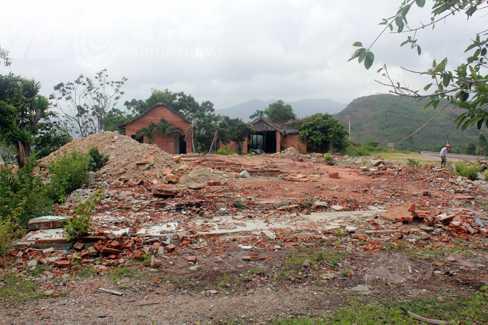 Khu resort bỏ hoang, đổ nát - nơi Nguyễn Vĩnh Hảo ẩn thân