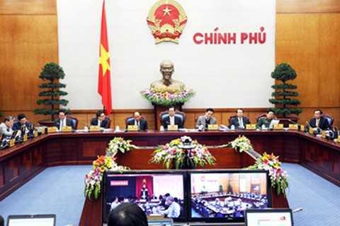 Hội nghị trực tuyến của Chính phủ với              các địa phương triển khai Nghị quyết của Quốc hội về nhiệm vụ              phát triển kinh tế – xã hội và dự toán ngân sách năm 2015