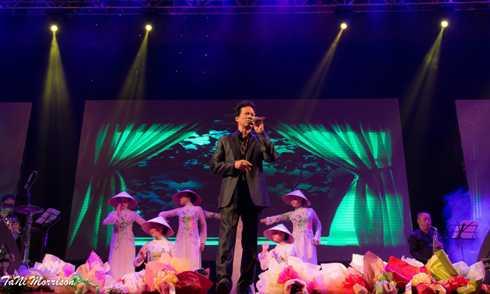 Chế Linh tổ chức liveshow riêng tại Cần Thơ
