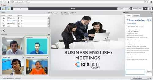 Nhiều khóa học bổ ích được giới thiệu trên Rockit online