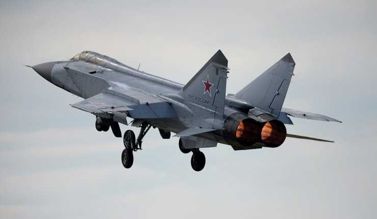Chiến cơ MiG-31 của quân đội Nga