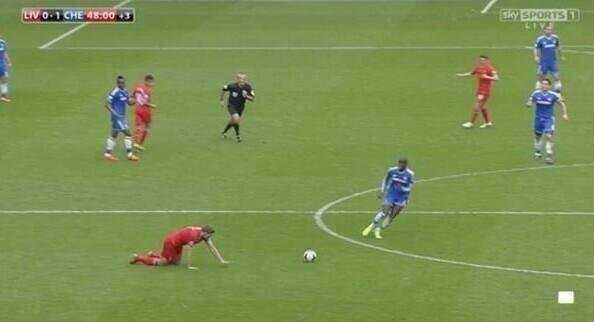 Đây có lẽ là khoảnh khắc đau đớn nhất trong sự nghiệp của Gerrard