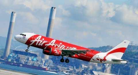 Một chiếc máy bay của hãng AirAsia