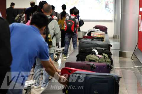 Đảm bảo an toàn đối với hành lý của hành khách là một trong những tiêu chí hàng đầu của Sân bay Đà Nẵng