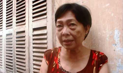 Bà Đỗ Thị Oanh kể lại giây phút xảy ra vụ cháy