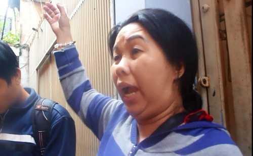 Chị Mỹ Linh cho biết cháy nhà cứ tưởng như đang bắn pháo bông